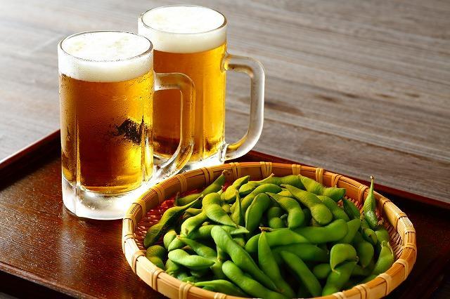 ビール 枝豆