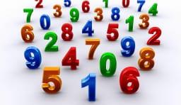 数字 番号