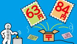 郵便料金アップ 増税