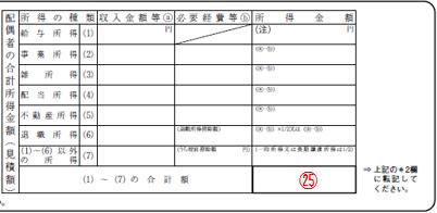 令和元年分給与所得者の配偶者控除等申告書