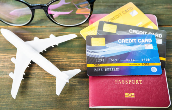 海外旅行 クレジットカード