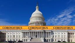 コロナウイルス アメリカ 国会議事堂