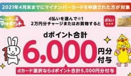 マイナポイント(d払い・dカード)