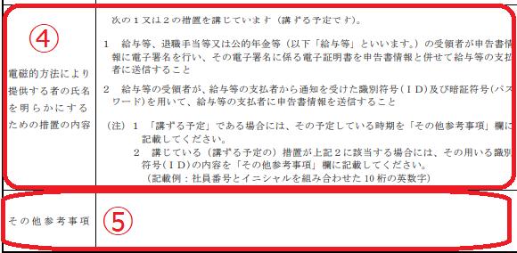 源泉徴収 電磁的提出承認申請書