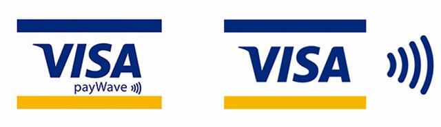 Visaのタッチ決済 対応店舗マーク