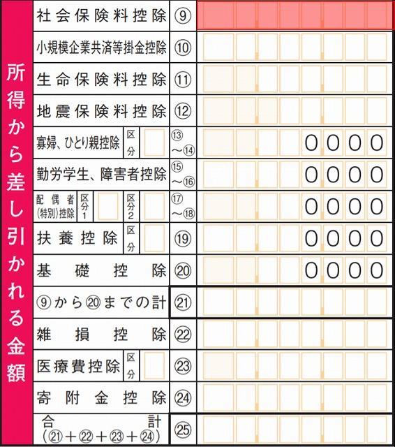 源泉徴収票転記3