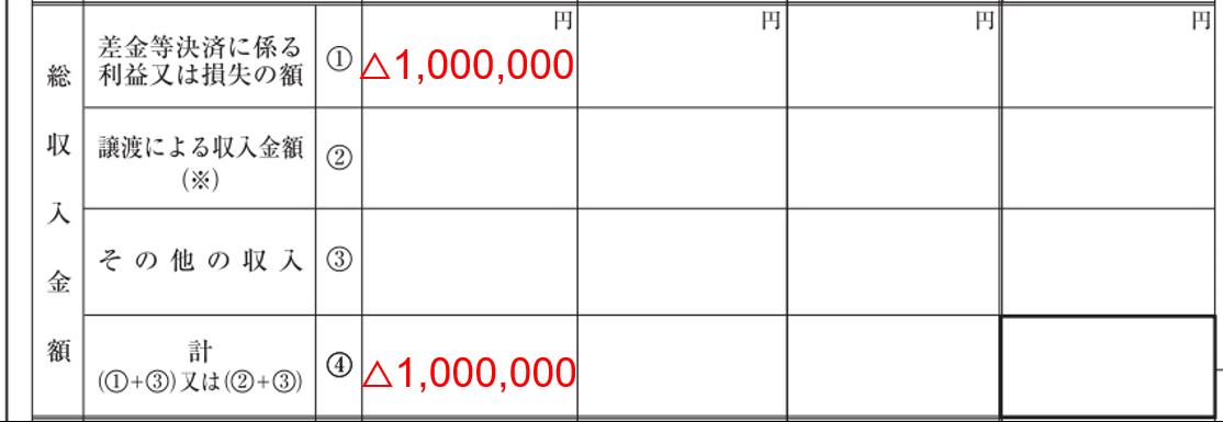 FX 損失 先物取引 ②