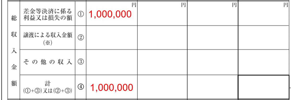 FX 損失繰り越し 先物取引 ②